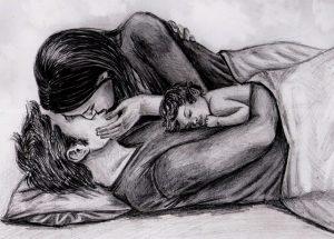 Lapiz Novios Enamorados Adolescentes En Dibujo Www Imagenesmy Com
