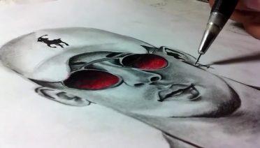 Dibujos de Bad Bunny a lápiz