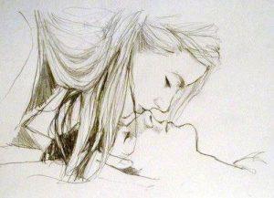 Dibujos a Lápiz de Amor para Mi Novia chidos