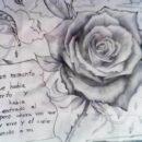 Dibujos a Lápiz de Amor para Mi Novia con frases