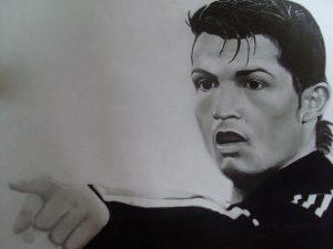 Dibujos a Lápiz de Cristiano Ronaldo 2018