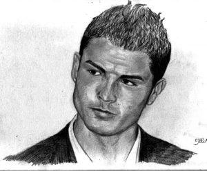 Dibujos a Lápiz de Cristiano Ronaldo chidos