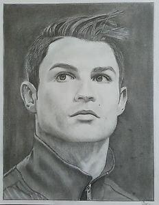 Dibujos de Cristiano ronaldo con lapiz