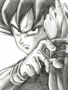 Dibujos a Lápiz de Goku