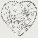 dibujos de amor a lapiz para mi novia