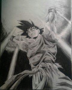 Dibujos A Lápiz De Goku Dibujos A Lápiz