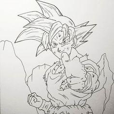 Dibujos A Lapiz De Goku Dibujos A Lapiz