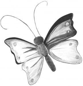 mariposas infantiles dibujos