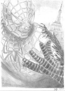 Dibujos a Lápiz de Spiderman 3