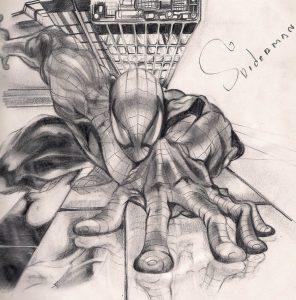 Dibujos a Lápiz de Spiderman homecoming