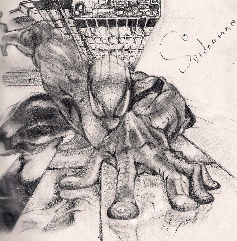 Los Mejores Dibujos De Spiderman A Lápiz Para Disfrutar De Este Arácnido