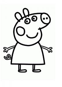 Dibujos De Peppa Pig A Lápiz Para Divertirte Con Los Peques