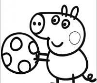 Peppa pig para colorear chidos