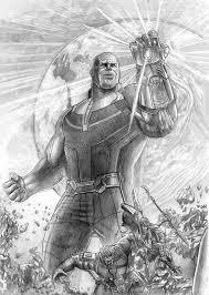 Thanos a lápiz