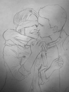 dibujos a lapiz chidos de amor para mi novio