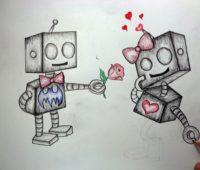 Dibujos a Lápiz de Amor Chidos