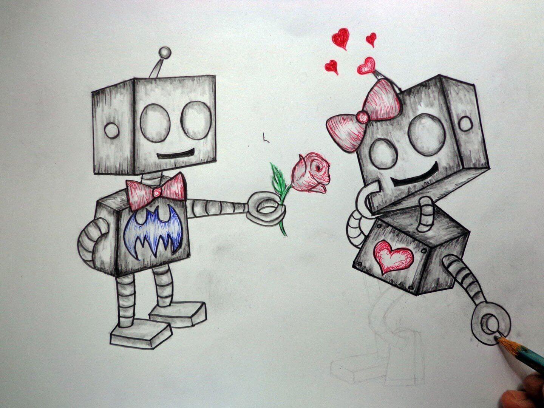 Dibujos a lapiz de amor en 3d
