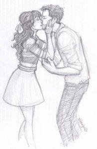 dibujos a lapiz de amor para mi novia
