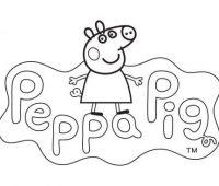 dibujos de Peppa pig a lapiz