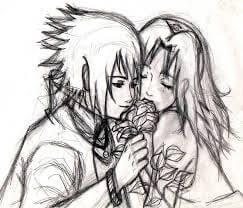 dibujos de amor chidos a lápi