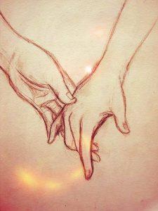 dibujos de amor muy chidos a lápiz