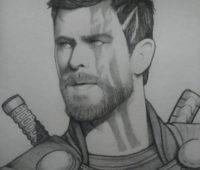 dibujos de los vengadores a lápiz