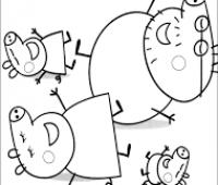 dibujos de peppa