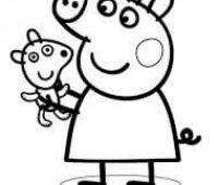 dibujos de peppa pig