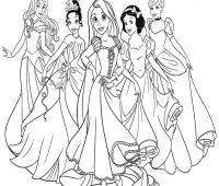 dibujos de princesas a lapiz fáciles