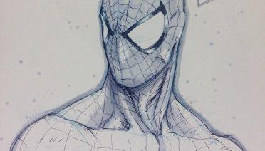 dibujos del hombre araña