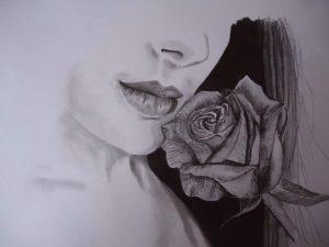 dibujos para hacer a lapiz de rosas