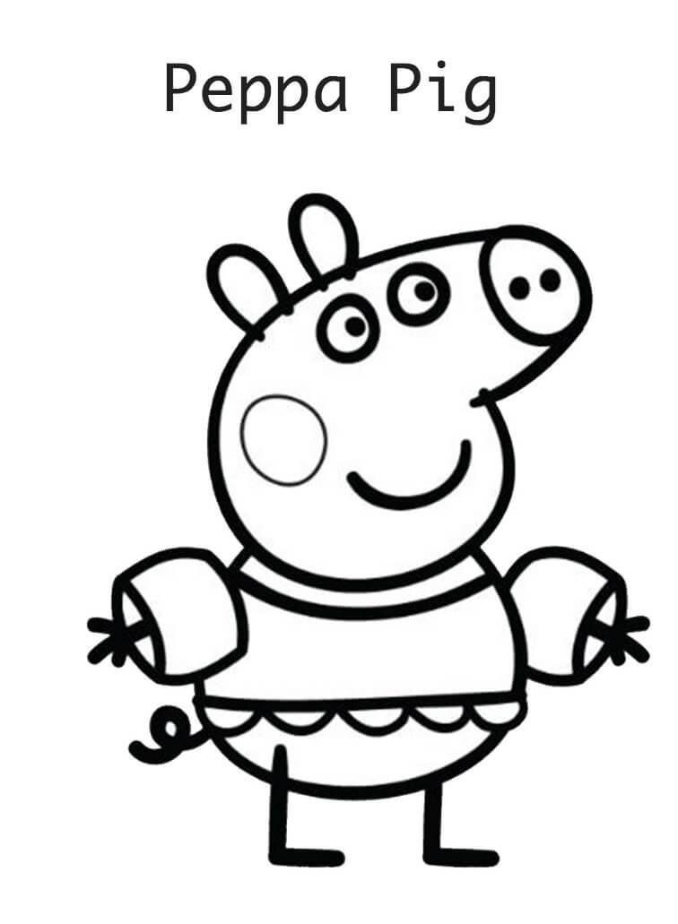 ▷ Dibujos de Peppa Pig a Lápiz para Divertirte con los Peques