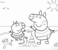 peppa pig para dibujar a lapiz