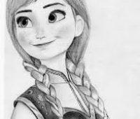 princesa a lapiz