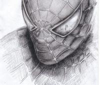 spiderman a lapiz