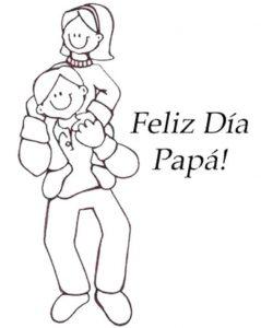 Dibujos del Día del Padre a Lápiz gratis