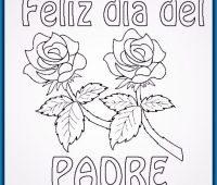 Dibujos del Día del Padre a Lápiz para imprimir