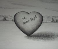 Dibujos del Día del Padre a Lápiz te amo