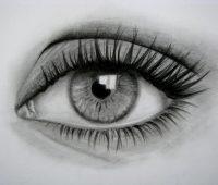 Dibujos de Ojos a Lápiz