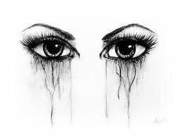 Dibujos A Lápiz De Ojos Llorando Hermosos Y Perfectos