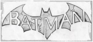 dibujos de batman a lápiz