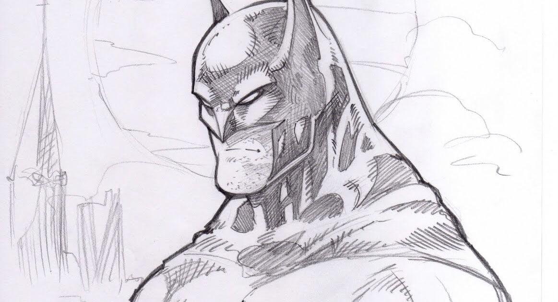Dibujos De Batman A Lápiz El Caballero De La Noche