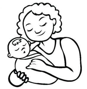 dibujos de mamás