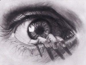 dibujos de ojos chidos