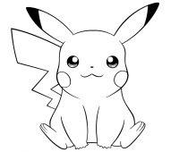 dibujos de pikachu