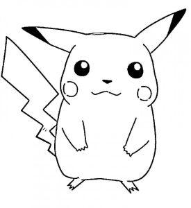 dibujos de pikachu 2018