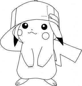 dibujos de pikachu chidas