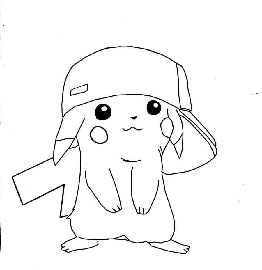 Dibujos De Pikachu Hechos A Lapiz Listos Para Descargar