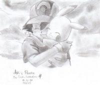 Dibujos a Lápiz de Pikachu