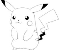 dibujos de pikachu para imprimir gratis